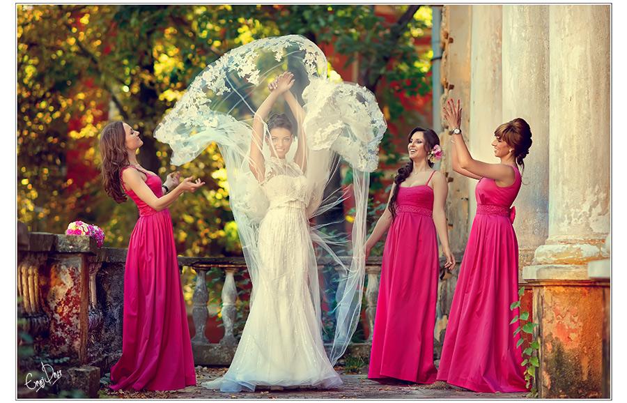 Фасоны платьев подружек невесты фото 9